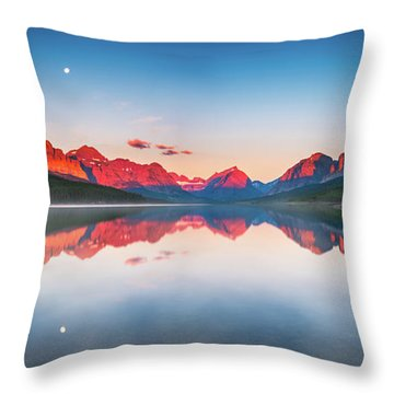 The Morning Tranquility Throw Pillow