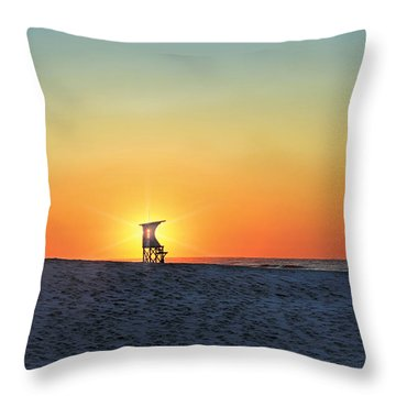 The Morning Watchtower Throw Pillow
