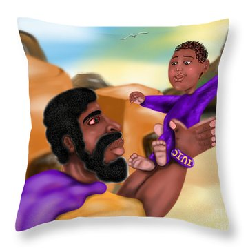 The Most High's Day Throw Pillow