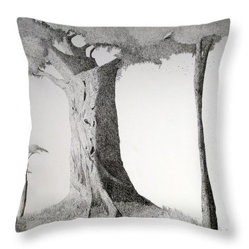 Throw Pillow featuring the painting The Mother Lode by A  Robert Malcom
