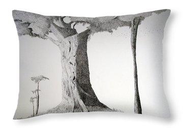 The Mother Lode Throw Pillow by A  Robert Malcom