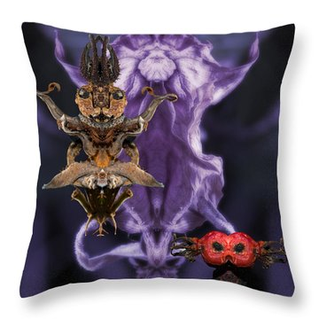 The Mother Throw Pillow by WB Johnston
