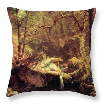 The Mountain Brook Throw Pillow