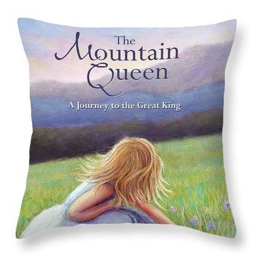 The Mountain Queen Book Cover Throw Pillow