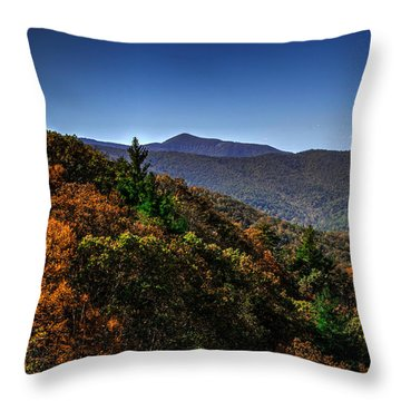 The Mountains Win Again Throw Pillow