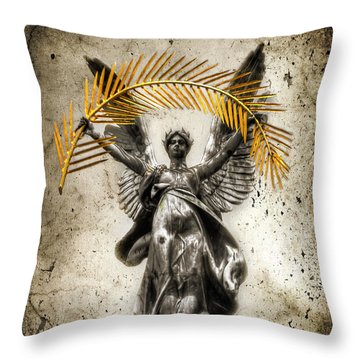 The Muse Throw Pillow by Evelina Kremsdorf