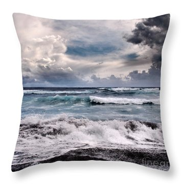 The Music Of Light Throw Pillow