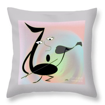 The Musician 2 Throw Pillow