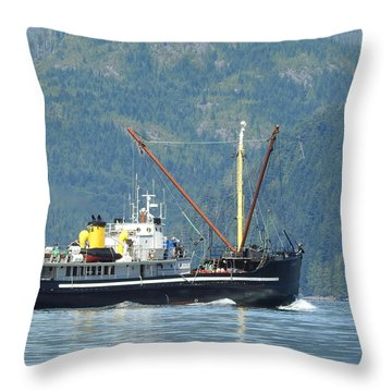 The Mv Uchuck #8 Throw Pillow