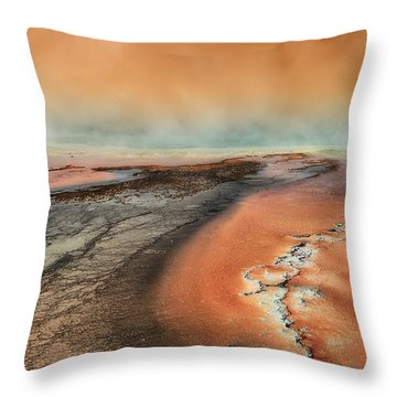 The Mysterious Force Throw Pillow