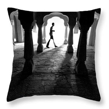The Mystery Man Throw Pillow