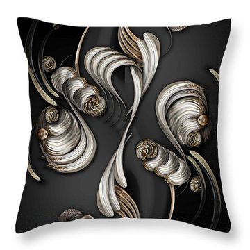 The Mystic Energy Throw Pillow