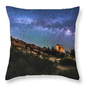 The Mystic Valley Throw Pillow