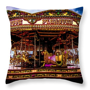 Throw Pillow featuring the photograph The Mystical Dragon Chariot by Chris Lord