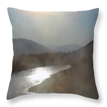 The Myth Starts Here Throw Pillow