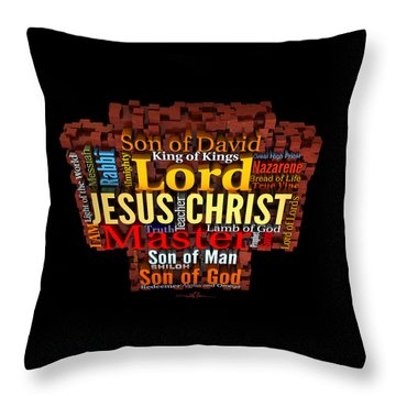 The Names Of The King-2 Throw Pillow