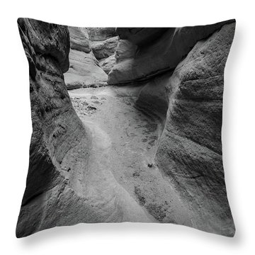 The Narrowing Throw Pillow