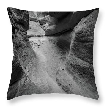 The Narrowing Throw Pillow
