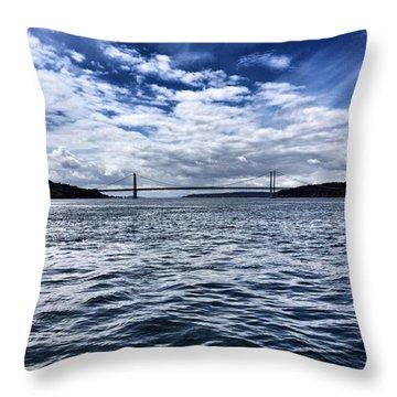 The Narrows Bridge  1 Throw Pillow
