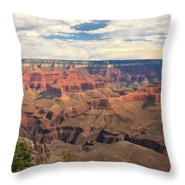 The Natives Holy Site Throw Pillow