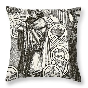 The Natural Sciences In The Presence Of Throw Pillow
