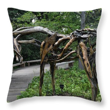 The Nature Of Horses Throw Pillow