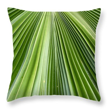 The Nature Of My Abstraction Throw Pillow