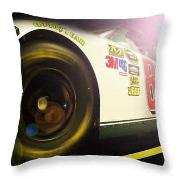 The Need For Speed 88 Throw Pillow by Kenneth Krolikowski
