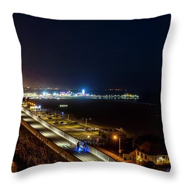 The New California Incline - Night Throw Pillow
