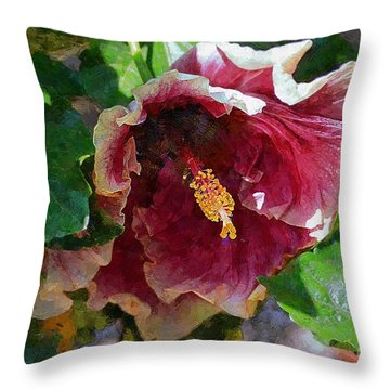 The New Impressionist Throw Pillow