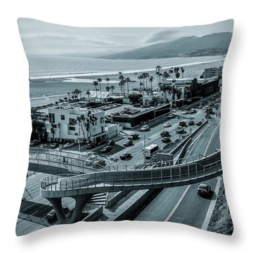 The New P C H Overpass Throw Pillow
