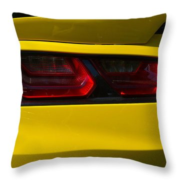 The New Round Throw Pillow by John Schneider
