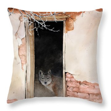 The New Tenent Throw Pillow