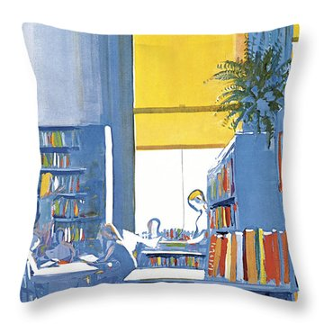 New Yorker June 29th 1968 Throw Pillow
