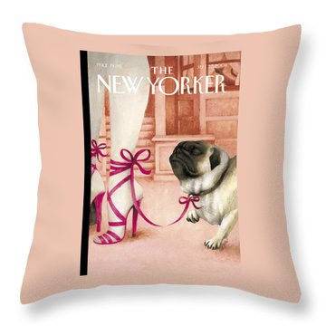 The New Yorker Cover - September 27th, 2004 Throw Pillow