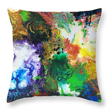 The Next Chapter Throw Pillow by Sally Trace