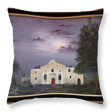 The Night Before Throw Pillow by Al Johannessen