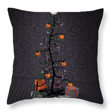 Nightmare Before Christmas Throw Pillows
