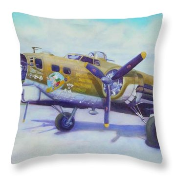 The Nine O Nine Throw Pillow by Scott Robertson