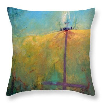 The Ninth Hour Throw Pillow