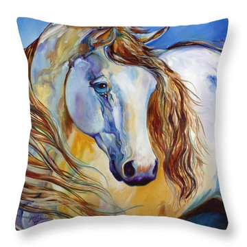 The Nobel Spirit Equine Throw Pillow