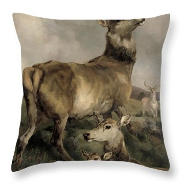 The Noble Beast Throw Pillow