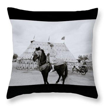 The Noble Man Throw Pillow by Shaun Higson