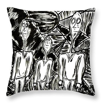 The Nod Trio Circa 1967 Throw Pillow
