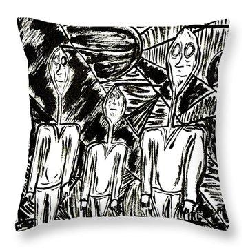 The Nod Trio Circa 1967 Throw Pillow