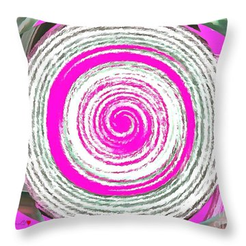 The Noise Throw Pillow by Catherine Lott