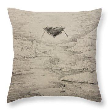 The Non-locals Throw Pillow