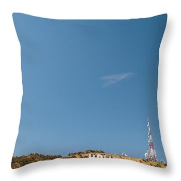 The Nora Ephron Shot - Beachwood Canyon Throw Pillow