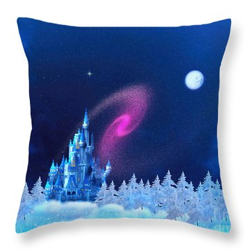 The North Pole Throw Pillow by Corey Ford