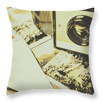 The Nostalgic Archive Throw Pillow